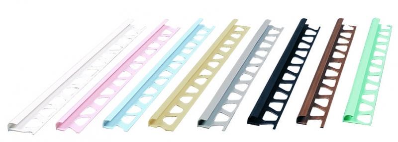 FÇDP08 - 8 mm PVC Dış Köşe Fayans Profili