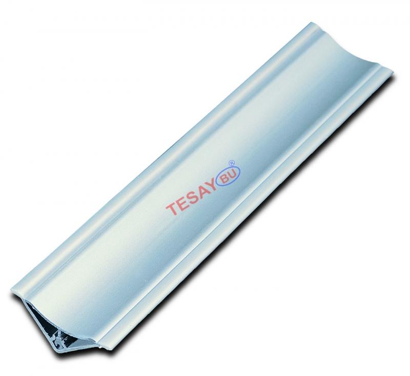 KUAL30 - 30X30 Alüminyum Küvet Kenar Profili (Çift Parça)
