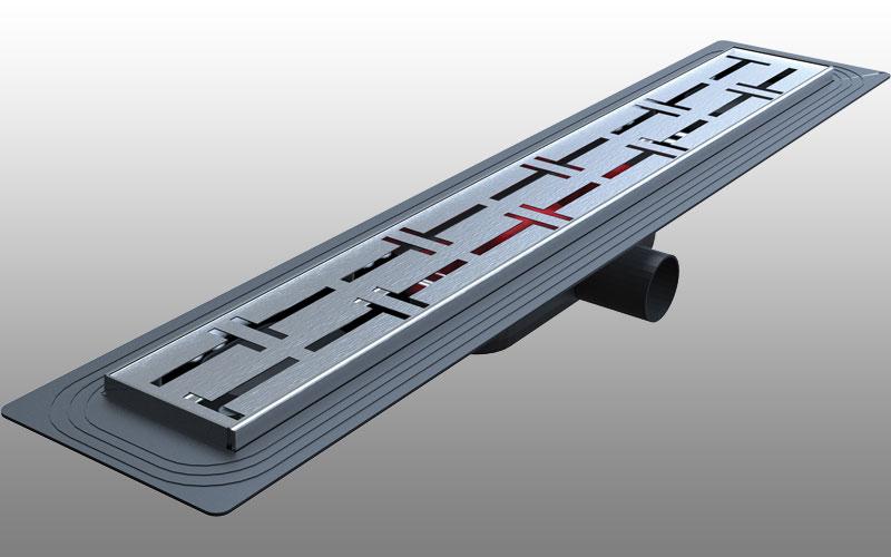 DSTSY3030 - Dekoratif Duş Kanalı Paslanmaz 30 cm - Satine Mat
