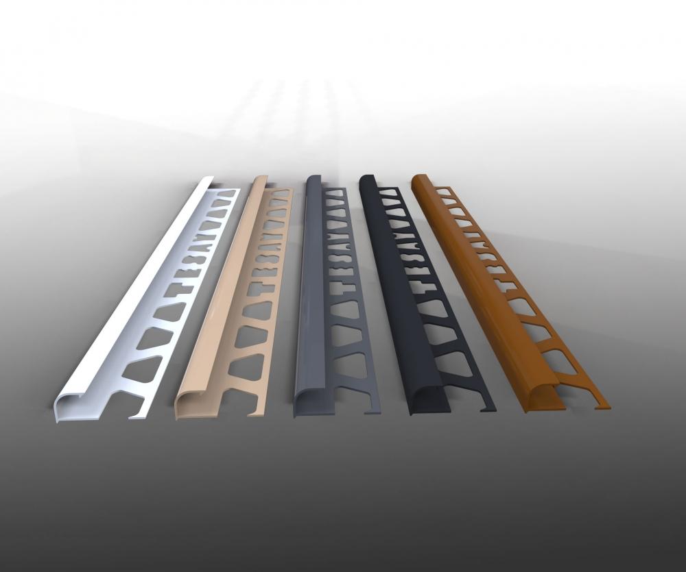 FÇDP - PVC Dış Köşe Fayans Profili