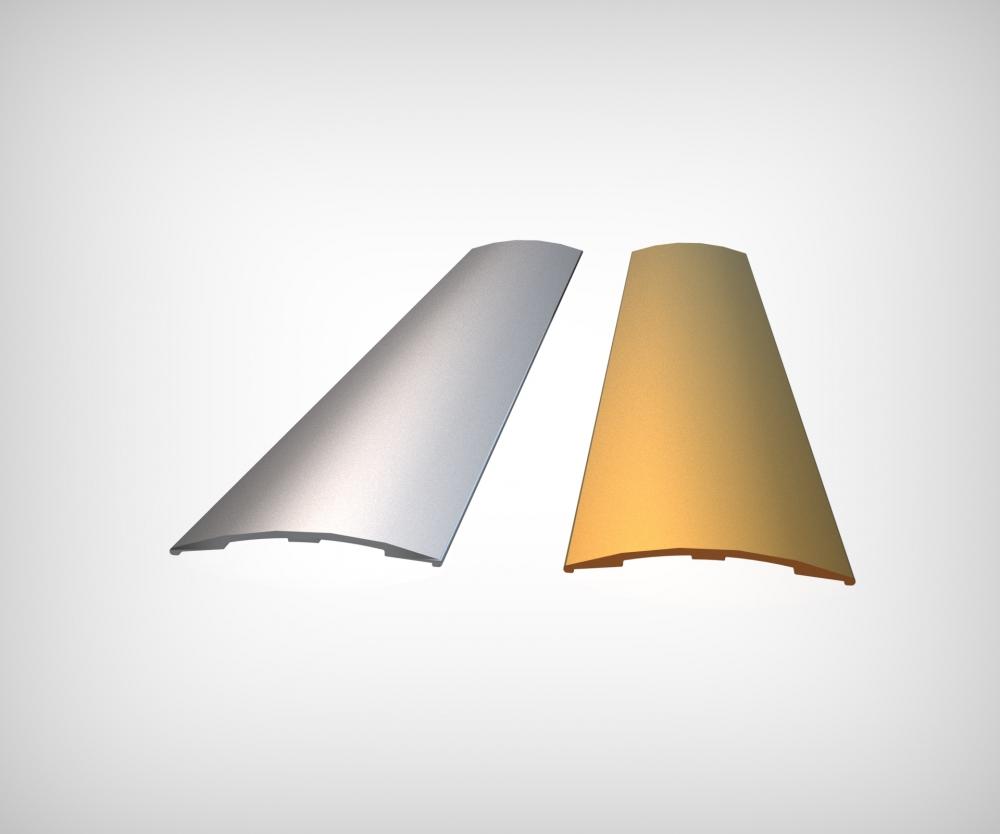 GPRA35 - 35 mm Alüminyum Geçiş Profili (Bantlı)