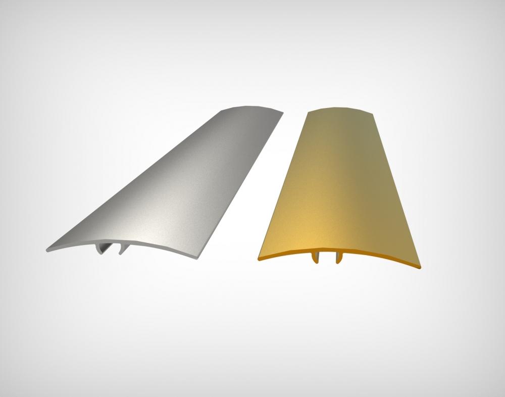 GPRA40 - 40 mm Alüminyum Geçiş Profili