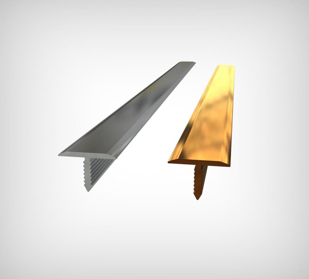 GPRTP15 - 15 mm Parlak Alüminyum ( T ) Profil