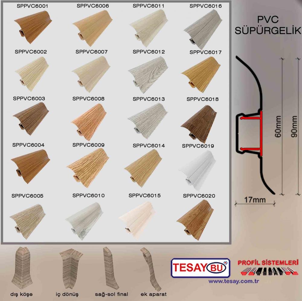 SPPVC Pvc Süpürgelik