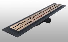 DSTSY3060 - Dekoratif Duş Kanalı Paslanmaz 30 cm - Ayna Bakır