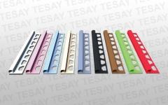 FÇDP11 - 10 mm PVC Federli Fayans Çıtası